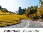 beautiful architecture at vaduz ... | Shutterstock . vector #1186578259