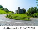 beautiful architecture at vaduz ... | Shutterstock . vector #1186578280
