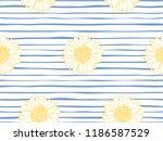 beautiful seamless  vector... | Shutterstock .eps vector #1186587529