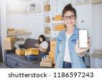 small business entrepreneur sme ...   Shutterstock . vector #1186597243