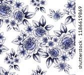abstract elegance seamless...   Shutterstock . vector #1186619869
