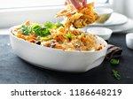 comfort food concept. baked... | Shutterstock . vector #1186648219