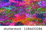multicolored surface texture... | Shutterstock . vector #1186653286