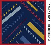 simply scarf pattern design | Shutterstock .eps vector #1186664410