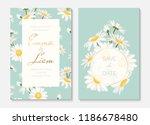 wedding invitation card...   Shutterstock .eps vector #1186678480
