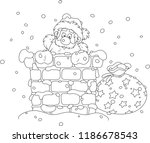 the night before christmas ... | Shutterstock .eps vector #1186678543