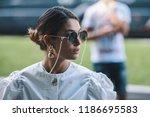 milan  italy   september 23 ... | Shutterstock . vector #1186695583