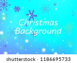 seamless winter texture with... | Shutterstock .eps vector #1186695733