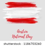 austria national day holiday.... | Shutterstock .eps vector #1186703260