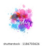 watercolor imitation splash... | Shutterstock .eps vector #1186703626