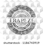 trapeze grey badge with... | Shutterstock .eps vector #1186743919
