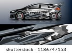 car decal graphic vector racing ...   Shutterstock .eps vector #1186747153