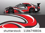 design  race  vehicle  vector ... | Shutterstock .eps vector #1186748836