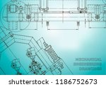 computer aided design systems.... | Shutterstock .eps vector #1186752673