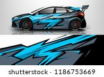 Car Wrap Design Vector  Truck...