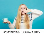 addiction and caffeine need... | Shutterstock . vector #1186754899