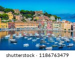 view of the bay of silence in... | Shutterstock . vector #1186763479