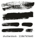 paint brush background   lines... | Shutterstock .eps vector #1186765660