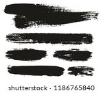 paint brush background   lines... | Shutterstock .eps vector #1186765840