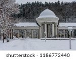 rudolf pramen colonnade in... | Shutterstock . vector #1186772440