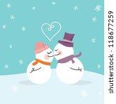 Fresh Kiss Snowmen