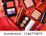 set of cosmetics with small... | Shutterstock . vector #1186774879