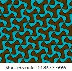 tileable recurring sinuous warp ... | Shutterstock .eps vector #1186777696