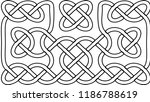 vector illustration of celtic... | Shutterstock .eps vector #1186788619