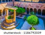 inner courtyard of frejus... | Shutterstock . vector #1186792039