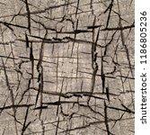 wood texture symmetrical... | Shutterstock . vector #1186805236