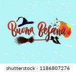 hand written brush lettering... | Shutterstock .eps vector #1186807276