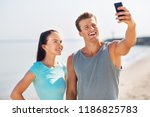 fitness  sport and lifestyle... | Shutterstock . vector #1186825783