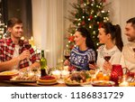 holidays and celebration... | Shutterstock . vector #1186831729