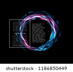 vector abstract background with ... | Shutterstock .eps vector #1186850449