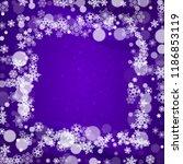 winter frame with ultraviolet...   Shutterstock .eps vector #1186853119