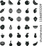 solid black flat icon set... | Shutterstock .eps vector #1186853209