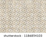 geometry texture repeat modern...   Shutterstock . vector #1186854103