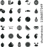 solid black flat icon set small ... | Shutterstock .eps vector #1186857349