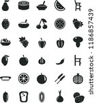 solid black flat icon set a... | Shutterstock .eps vector #1186857439