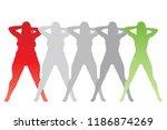 vector conceptual fat... | Shutterstock .eps vector #1186874269