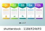 infographics design template ... | Shutterstock .eps vector #1186924693