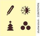 snowflake icon. snowflake...   Shutterstock .eps vector #1186929496