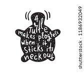 a turtle makes progress when it ... | Shutterstock .eps vector #1186932049