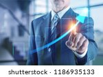 new technologies for business . ... | Shutterstock . vector #1186935133