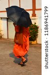 vientiane laos 04 06 13  a monk ... | Shutterstock . vector #1186941799