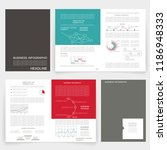 brochure design and... | Shutterstock .eps vector #1186948333