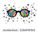 optimist view concept  inner... | Shutterstock .eps vector #1186949503