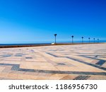 mosque of hassan ii in... | Shutterstock . vector #1186956730