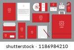 corporate identity branding...   Shutterstock .eps vector #1186984210