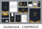 corporate identity branding... | Shutterstock .eps vector #1186984213